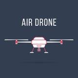 Abejón blanco y rosado del aire Imagenes de archivo