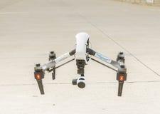Abejón con el vuelo de la cámara de vigilancia Imagen de archivo