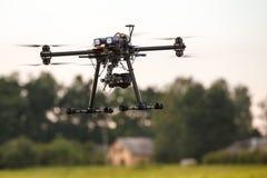 Abejón de alta tecnología del multicopter Imagen de archivo libre de regalías