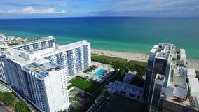 Abejón de la antena de Miami Beach almacen de metraje de vídeo