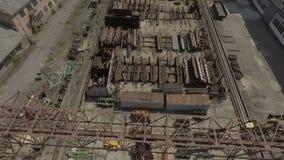abejón Industria Ingeniería de planta enorme, equipo al aire libre metrajes
