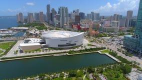 Abejón Miami céntrica 4k almacen de metraje de vídeo