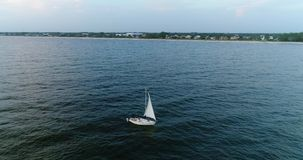 Abejón: Navegación en el mar almacen de metraje de vídeo