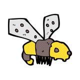 abeja cómica de la historieta Imagen de archivo libre de regalías