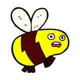 abeja cómica de la historieta Imágenes de archivo libres de regalías