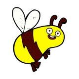 abeja cómica divertida de la historieta Fotografía de archivo
