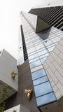 Abeja de oro en un rascacielos Eureka, Melbourne Foto de archivo libre de regalías
