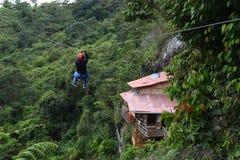 Abejorral, Κολομβία - 25 Ιουνίου 2017: EN EL Aire θόλος Λα Casa Στοκ Εικόνα