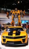 ABEJORRO, AUTOBOT heroico basado en el Camar de Chevrolet Foto de archivo libre de regalías