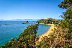 abel nationell ny park tasman zealand Arkivbilder