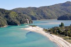 abel nationell ny park tasman zealand Royaltyfri Foto