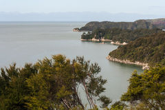 Abel Tasman coastline Stock Photography
