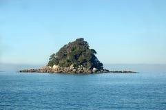 Abel Tasman eiland stock fotografie