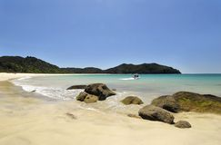 Abel Tasman National Park, New Zealand. Royalty Free Stock Photography
