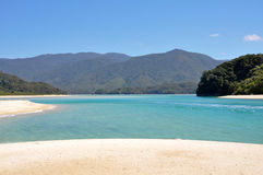 Abel Tasman National Park in New Zealand Royalty Free Stock Photos