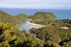 Abel Tasman nationalpark (New Zealand) Royaltyfria Bilder