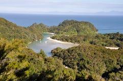 Abel Tasman nationalpark (New Zealand) royaltyfria bilder