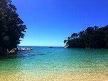 Abel Tasman, Nouvelle Zélande Photos libres de droits