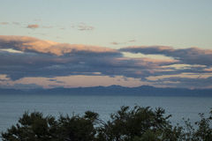 Abel Tasman Sunset Royaltyfria Bilder