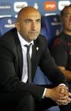 Abelardo Fernández manager of Sporting Gijon Stock Image