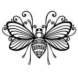 Abelha do inseto ilustração royalty free