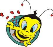 A abelha selvagem Fotografia de Stock Royalty Free