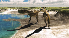 Abelisaurus Royalty Free Stock Images