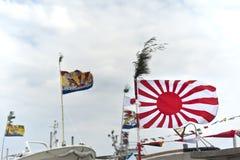 Abençoando bandeiras da bênção fotografia de stock royalty free