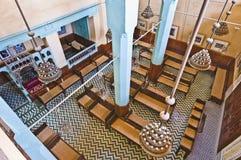aben danan菲斯摩洛哥犹太教堂 免版税库存照片