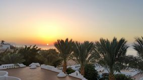 Abend in Ägypten ist magisch Stockfotos