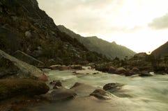 Abend auf dem Fluss Lizenzfreie Stockfotos