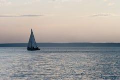 Abend auf dem Meer Lizenzfreies Stockfoto