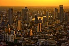 Abend Bangkok Thailand stockfoto