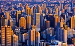 Abend Bangkok Thailand lizenzfreie stockfotografie