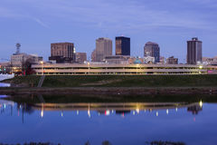Abend in Dayton, Ohio Stockbilder