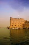 Abend Dubrovnik stockbilder