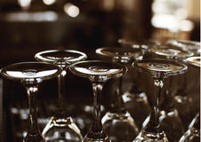 Abend-Gläser Stockfotos
