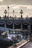 Abend-Hafen-DES Champs-Elysees stockbild