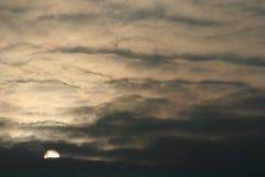 Abend-Himmel lizenzfreie stockbilder