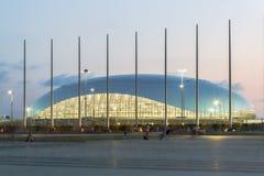 Abend im Olympiapark Stockfotos
