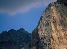 Abend im Zwilling ragt Wildnis, Wasatch-Strecke, Utah empor Lizenzfreie Stockfotografie