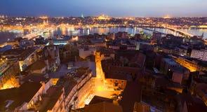 Abend Istanbul Lizenzfreie Stockfotos