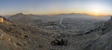 Abend Kabul Lizenzfreies Stockbild