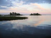 Abend in Kalmar Stockbilder