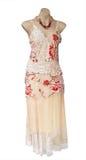 Abend-Kleid auf Mannequin lizenzfreie stockbilder