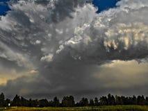 Abend-Konvektion Lizenzfreies Stockfoto
