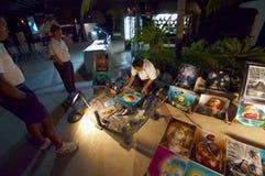 Abend-Kunst-Verkauf Stockbild