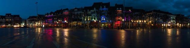 Abend Maastricht Stockbild