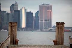 Abend in Manhattan Lizenzfreie Stockfotos