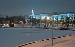 Abend Minsk lizenzfreie stockfotos